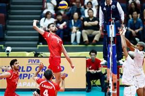 داوران دیدار والیبال ایران و فرانسه اعلام شدند