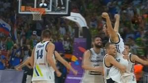 خلاصه بسکتبال اسلوونی 93- صربستان 85 (فینال قهرمانی اروپا)