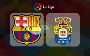 خلاصه بازی بارسلــونا 3 - لاس پالماس 0