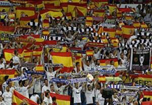 پاسخ هواداران رئال مادرید به جدایی طلبان کاتالونیا