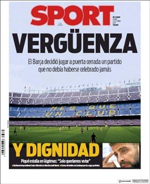 زیرنویس فارسی | چرا بازی بارسلونا نباید برگزار میشد؟