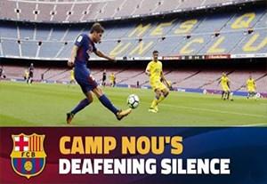 پشت صحنه بازی بارسلونا - لاس پالماس