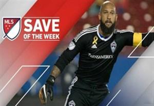 زیباترین واکنش های دروازه بانان در هفته 30 لیگ MLS
