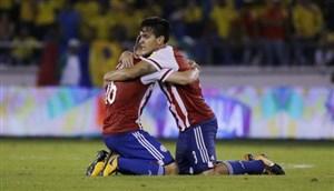 خلاصه بازی کلمبیا 1 - پاراگوئه 2
