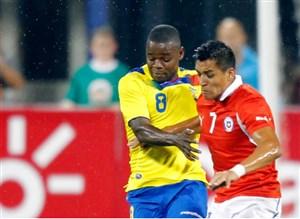 خلاصه بازی شیلی 2 - اکوادور 1