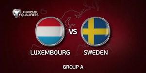 گلهای بازی سوئد 8 - لوکزامبورگ 0