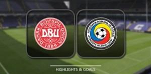 خلاصه بازی دانمارک 1 - رومانی 1