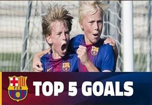 5 گل برتر آکادمی بارسلونا (96/07/19)