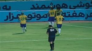 خلاصه بازی صنعت نفت آبادان 1 - نفت تهران 0