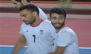 خلاصه فوتسال ایران 12 - تاجیکستان 2