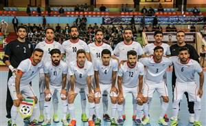 اعلام آخرین ردهبندی تیم های ملی فوتسال