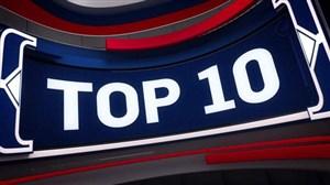10 حرکت برتر NBA در شب گذشته (96/09/19)