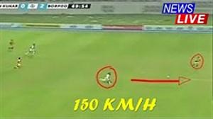 شکستن رکورد اوسین بولت توسط بازیکن اندونزیایی!