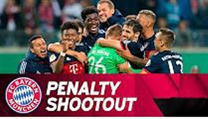 پنالتی های دراماتیک بایرن مونیخ و لایپزیش در جام حذفی