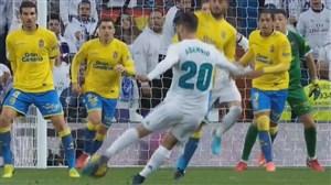 خلاصه بازی رئال مادرید 3_0 لاس پالماس (سوپر گل آسنسیو)