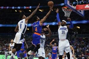 خلاصه بسکتبال اورلاندو مجیک 112 - نیویورک نیکس 99