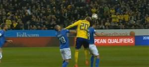 حواشی برد سوئد در برابر ایتالیا