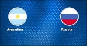 خلاصه بازی روسیه 0 - آرژانتین 1