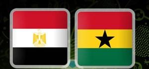 گلهای بازی  غنا 1  - مصــر 1