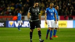 حواشی و کنفرانس خبری بازی ایتالیا و سوئد