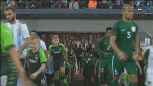 خلاصه بازی آرژانتین 2_4 نیجریه