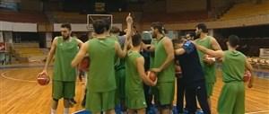 اردوی تیم ملی بسکتبال ایران در رقابتهای انتخابی جام جهانی