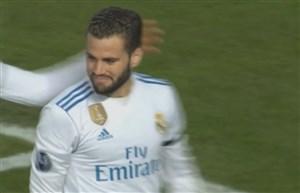 گل سوم رئال مادرید به آپوئل (ناچو)