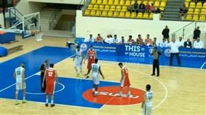 خلاصه بسکتبال عراق 74 - ایران 66