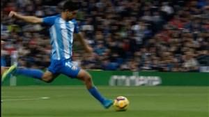 گل دوم مالاگا به رئال مادرید (چوری کاسترو)