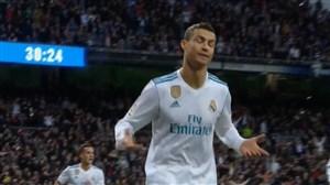 گل سوم رئال مادرید به مالاگا (رونالدو)