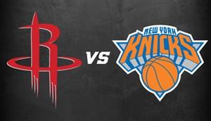 خلاصه بسکتبال نیویورک نیکس 102 - هیوستون راکتز
