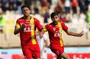 خلاصه بازی فولادخوزستان 2 - سپید رود 1