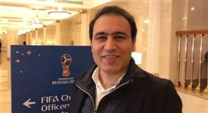 مهدوی کیا تماشاچی ویژه ایران - اسپانیا