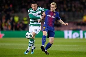 خلاصه بازی بارسلونا 2 - اسپورتینگ 0