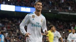 گل اول رئال مادرید به بارسلونا (رونالدو)