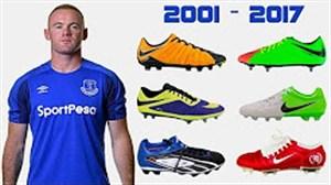 کفش های رونی از سال 2001 تا 2017