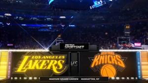 خلاصه بازی لس آنجلس لیکرز - نیویورک نیکس