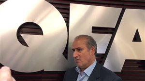 مصاحبه تاج در مورد تفاهم نامه همکاری میان دو کشور (ایران-قطر)