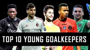 10 دروازه بان برتر جوان در فصل 18-2017
