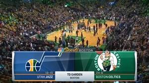 خلاصه بازی بوستون سلتیکس - یوتا جاز