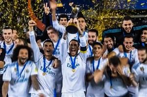 جشن قهرمانی رئال مادرید در جام باشگاه های جهان 2017