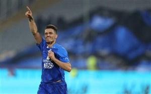 اولین گل فصل استقلال با ضربه سر بعد از 22 هفته