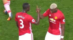 دست دادن های جالب فوتبالیست ها