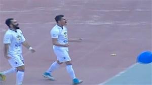 گل اول استقلال به استقلال خوزستان (وریاغفوری)