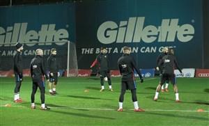آخرین تمرین بارسلونا قبل از دیدار با سلتاویگو