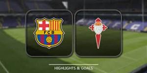 خلاصه بازی سلتاویگو 1 - بارسلونا 1