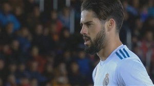 گل دوم رئال مادرید به نومانسیا (ایسکو)