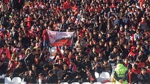 حال و هوای استادیوم یادگارامام تبریز پیش از بازی
