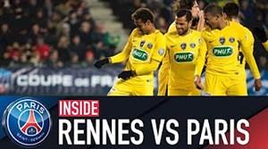 حواشی بازی رن - پاریس سن ژرمن (جام حذفی فرانسه)