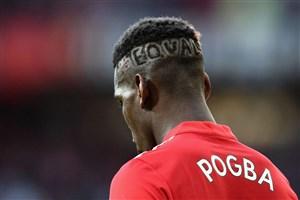 پل پوگبا با مدل موهای افراد مشهور